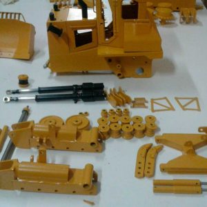 KIT DT10 BULLDOZER TOY KIT DT70 V3 MASSSTAB 1:13 - 25 kg