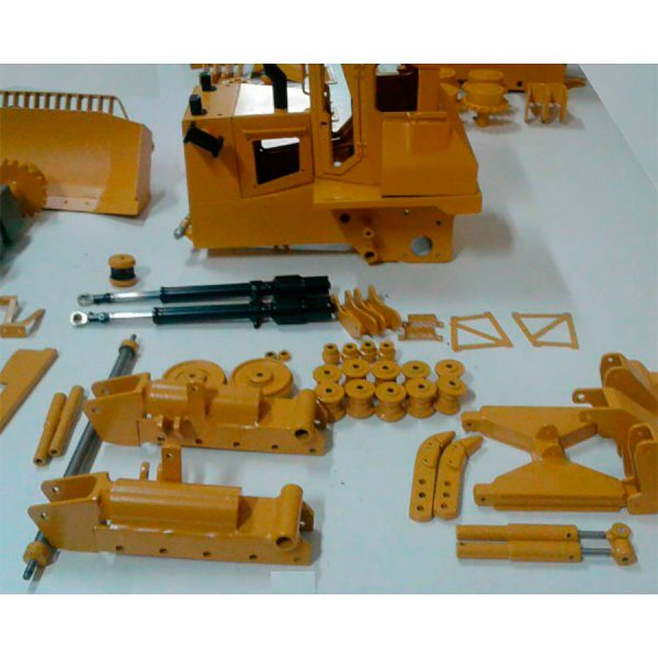 kit RC bulldozer