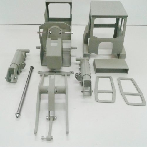 CHASSIS KETTENLADER – MASSSTAB 1:12