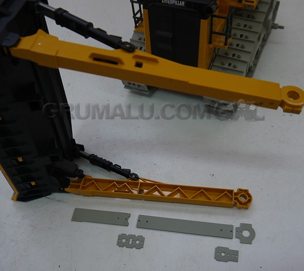 BULLDOZER TOY KIT DT10 ARM METALVERSTÄRKUNG BRUDER BULLDOZER MODELL