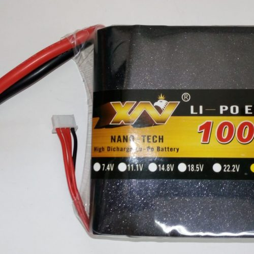 10000 mAh, High Discharge LiPo Batterie