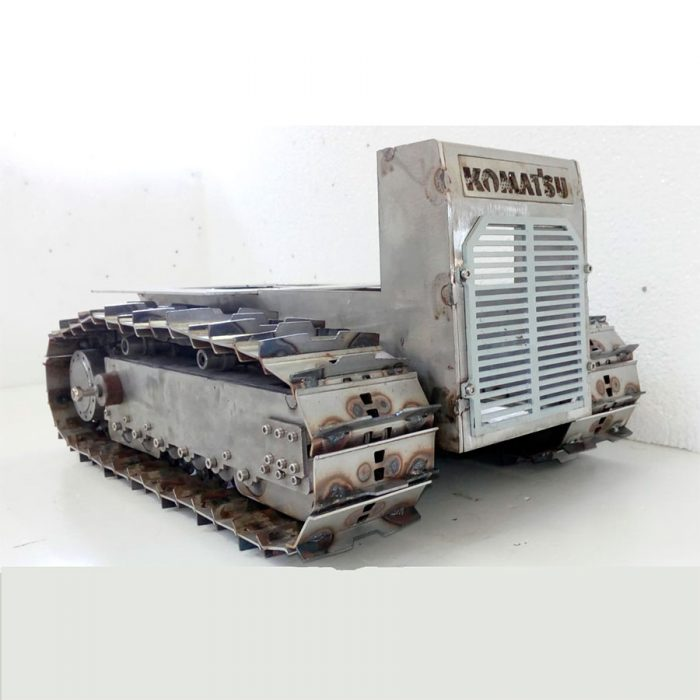 BULLDOZER RC DT 70 V3 PLANIERRAUPE BAUSATZ VERSION