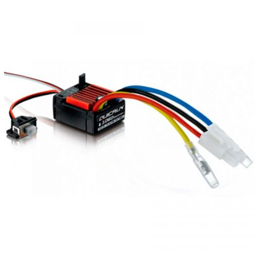 Fahrtregler 60A 2S-3S wasserdicht waterproof brushed ESC for 1/10